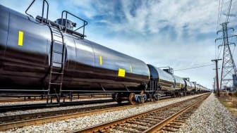 A line of new railroad tank cars used an alternative pipeline distribution of oil. Rail industry improved tank cars designed to prevent spills.