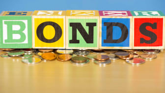 blocks spelling out the word bonds