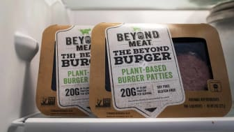 Beyond Meat packages