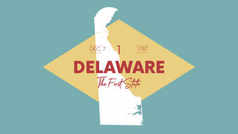 picture of Delaware with state nickname