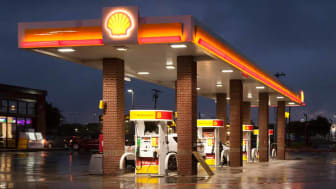 Shell gas station in Texas