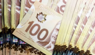 Canadian $100 notes