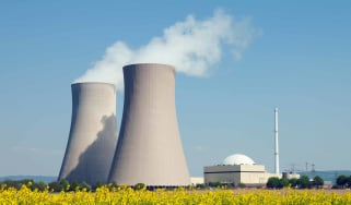 Nuclear power cooling towers