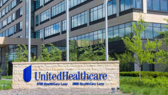 UnitedHealth sign in front of a building.
