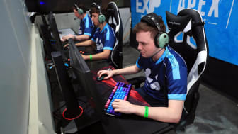 MINNEAPOLIS, MINNESOTA - AUGUST 02:Assert from Team Tempo Storm competes during the EXP Invitational-Apex Legends at X Games 2019 Minneapolis at U.S. Bank Stadium on August 02, 2019 in Minnea
