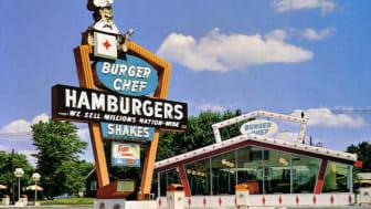 An old Burger Chef restaurant