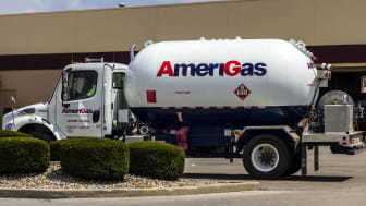 AmeriGas Propane truck