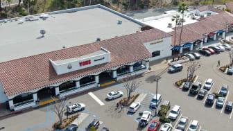 Shopping center with Vons supermarket