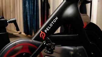 A Peloton bike
