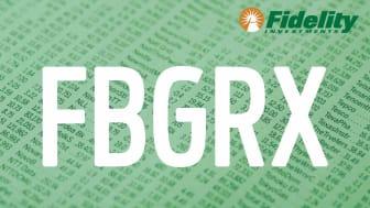 Composite image representing Fidelity's FBGRX fund