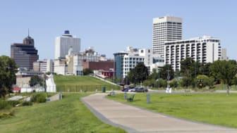 Memphis Park Downtown Skyline