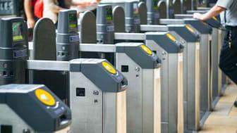 subway ticket barrier