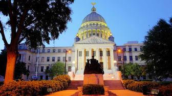 Jackson, Mississippi state capitol building