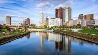 picture of city skyline in Ohio