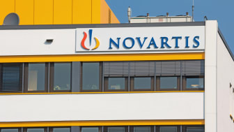 Marburg, Germany - July 6, 2013: Marburg Office of Swiss multinational company Novartis AG
