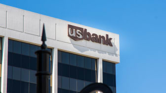 Los Angeles - September 8, 2015: US bank office building in Beverly Hills - U.S. Bancorp is an American diversified financial services holding company headquartered in Minneapolis, Minnesota
