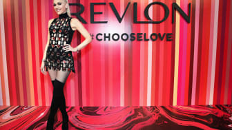 NEW YORK, NY - FEBRUARY 14:Revlon Global Brand Ambassador Gwen Stefani hosts the Choose Love Valentine's Day Event at Tribeca Rooftop on February 14, 2017 in New York City.(Photo by Cindy Ord