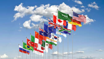 Group of 20 flags