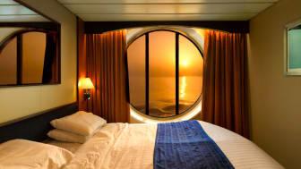 sunset ocean view hotel room