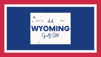 picture of Wyoming with state nickname