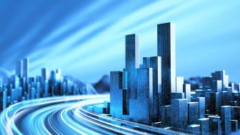 futuristic real estate concept