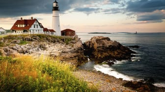 picture of a Maine lighthouse