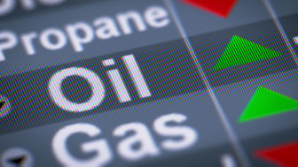 propane and oil futures trading