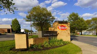 A Tyson Foods truck