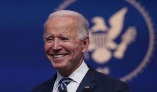 picture of joe biden smiling