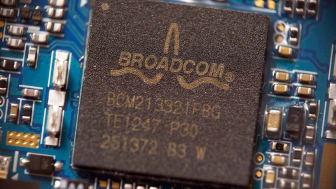 A Broadcom semiconductor