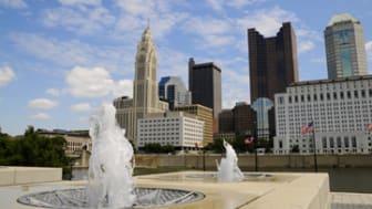 City View of Columbus Ohio Skyline