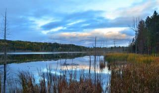 Lake in Leelanau County, MI photograph