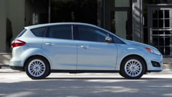 2013 Ford C-MAX Hybrid delivers EPA-estimated 47 mpg city, 47 mpg highway ratings - 7 mpg better than Toyota Prius v on the highway - for a 47 mpg combined rating. (6/10/2013)
