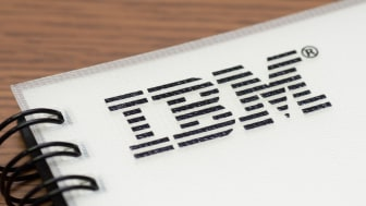 """Yokohama, Japan - August 15, 2011: IBM sign on a notebook which is one of deliverables in an education course for managers."""