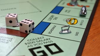 FAIRFAX, CA - FEBRUARY 06:In this photo illustration, The Monopoly iron game piece is displayed on February 6, 2013 in Fairfax, California. Toy maker Hasbro, Inc. announced today that fans of