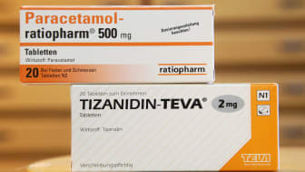 BERLIN - MARCH 18: Boxes of medication by German pharmaceuticals company Ratiopharm and Israeli pharmaceutical company Teva stand next to each other at a pharmacy on March 18, 2010 in Berlin,