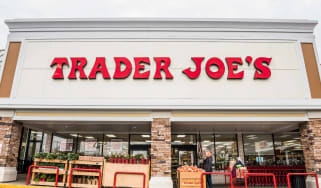 Exterior of a Trader Joe's supermarket