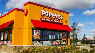 A Popeyes restaurant