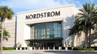 West Palm Beach, Florida, USA - September 7, 2011: This image shows a Nordstrom retail store at a suburban shopping mall. Nordstrom offers apparel, shoes, jewelry, cosmetics and accessories f