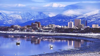 Anchorage, Alaska, skyline