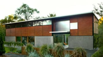 Joel koyama/Star TribuneOverall exterior view of the FlatPak house looking from east to west.FLAT1012 What's it like living day-to-day in a house that's also a national fishbowl of modern des