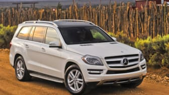 2013 Mercedes-Benz GL350.