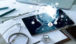 healthcare global network concept