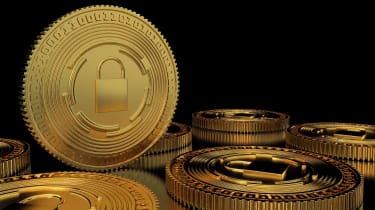 digital coin concept