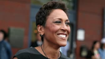 News anchor Robin Roberts attends the USTA 13th Annual Opening Night Gala at the USTA Billie Jean King National Tennis Center, on Monday, Aug. 26, 2013 in New York. (Photo by Andy Kropa/Invis
