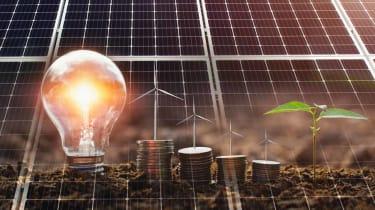 photo illustration of green energy