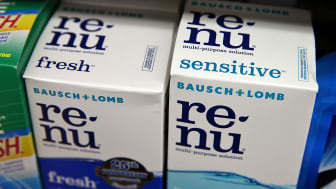 Two boxes of Re-Nu eye-care products