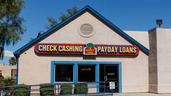 picture of check cashing business