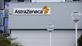 outside of an AstraZeneca building