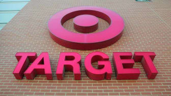 CHICAGO - JULY 18:A sign is seen on the exterior of a Target store July, 18, 2006 in Chicago, Illinois. Heightened concerns that energy prices are slowing consumer spending helped to drag sha